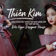 Thiên Kim khoe nhan sắc trong veo như nàng thơ với thiết kế của Đắc Ngọc Designer House