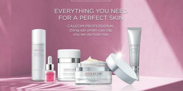 CALECIM Professional – Dòng sản phẩm cao cấp cho làn da hoàn hảo
