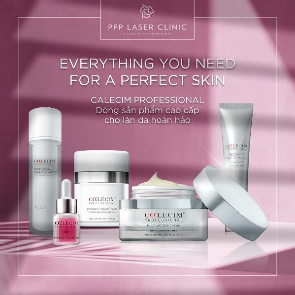 CALECIM Professional - Dòng sản phẩm cao cấp cho làn da hoàn hảo