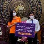 Tổ chức Hoa hậu Hoàn vũ Việt Nam chung tay phòng chống dịch Covid-19 tại Long An