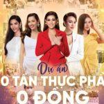 """Hoa hậu Hoàn Vũ Việt Nam đồng hành cùng dự án """"10 tấn thực phẩm 0 đồng"""""""