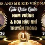 Vinh danh các thí sinh xuất sắc nhất qua vòng thi đầu tiên của Miss & Mr Kid 2021