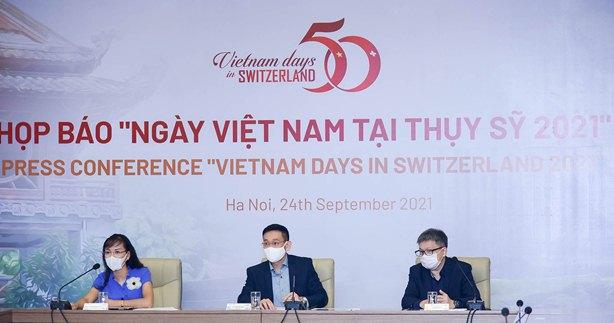 """""""Ngày Việt Nam tại Thụy Sỹ năm 2021"""" sẽ được tổ chức trực tuyến"""
